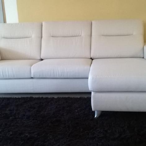 Divano in tessuto con chaise lounge angolare reversibile for Divano angolare tessuto prezzi