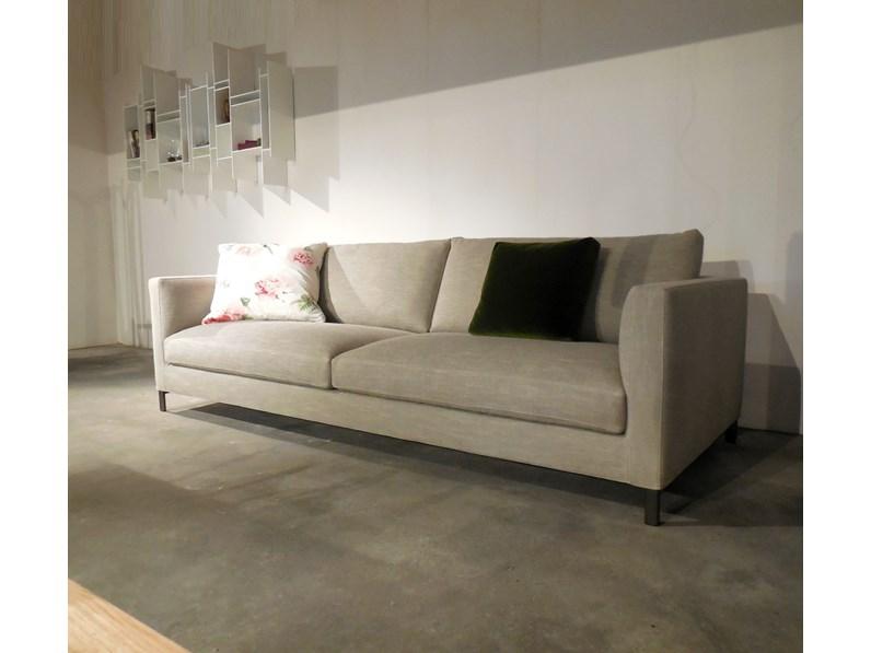 Divano in tessuto divano hampton verzelloni - Tessuto rivestimento divano ...