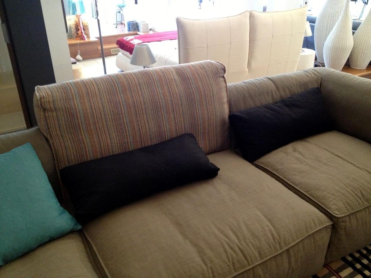 Divano con penisola in tessuto scontato del 40 divani a prezzi scontati - Divano con penisola ...
