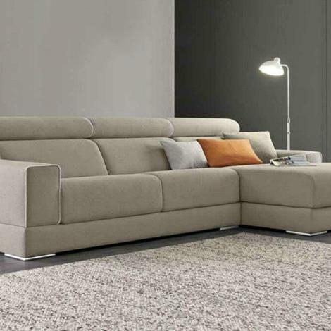 Divano james con penisola e movimento relax di felis - Costo rivestimento divano ...