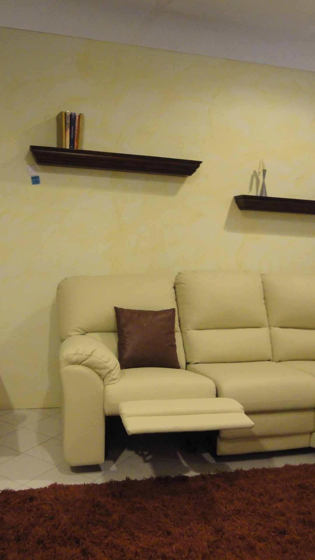 Divano lecomfort oscar divani relax ecopelle divani a - Divano 250 cm ...