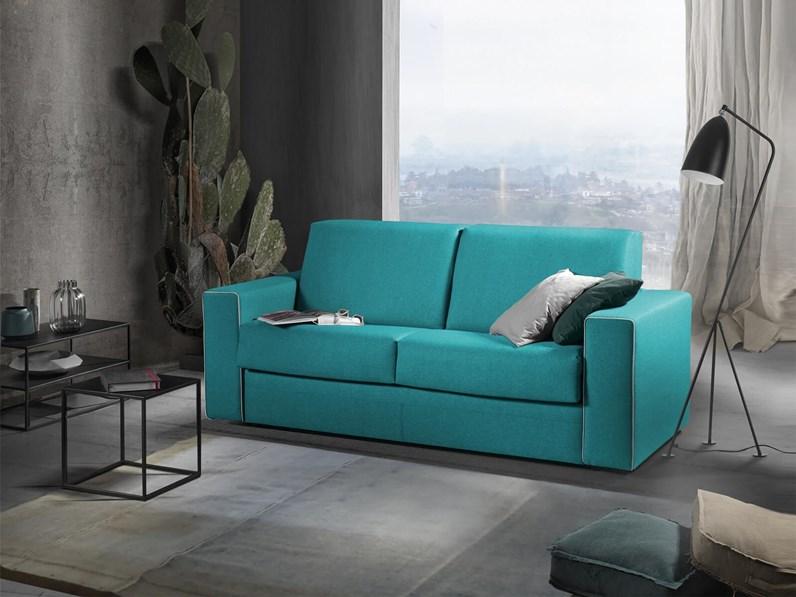 Divano letto 21 con materasso altezza 21 cm sconto 44 - Altezza schienale divano ...
