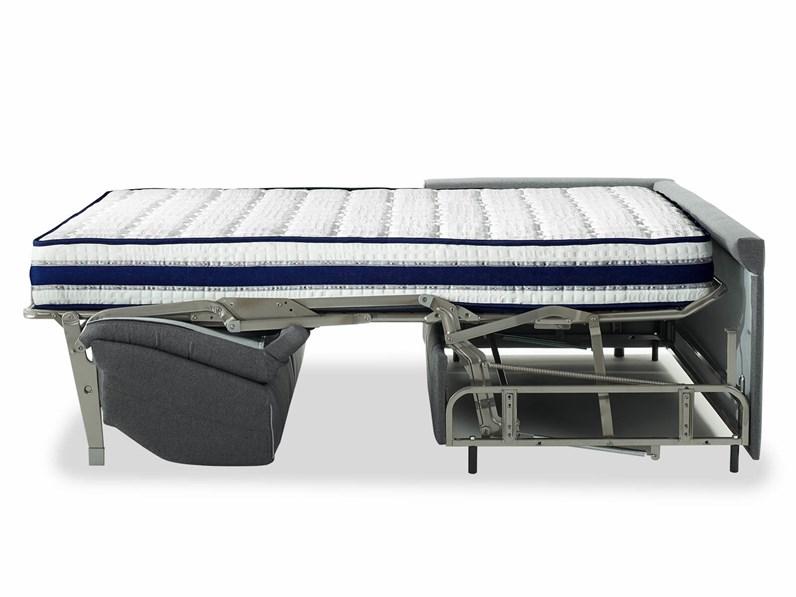 Divano letto 21 con materasso altezza 21 cm sconto 44 for Divano letto con materasso