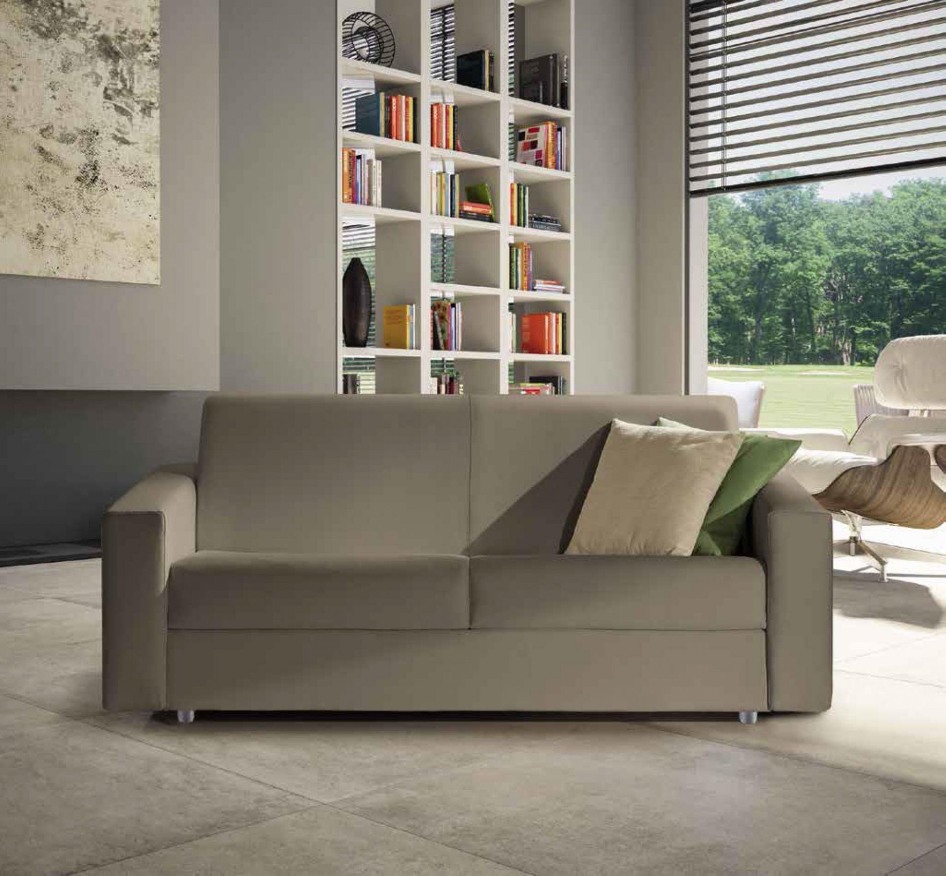 Divano letto alice 3 posti in tessuto divani a prezzi - Divano 3 posti letto ...