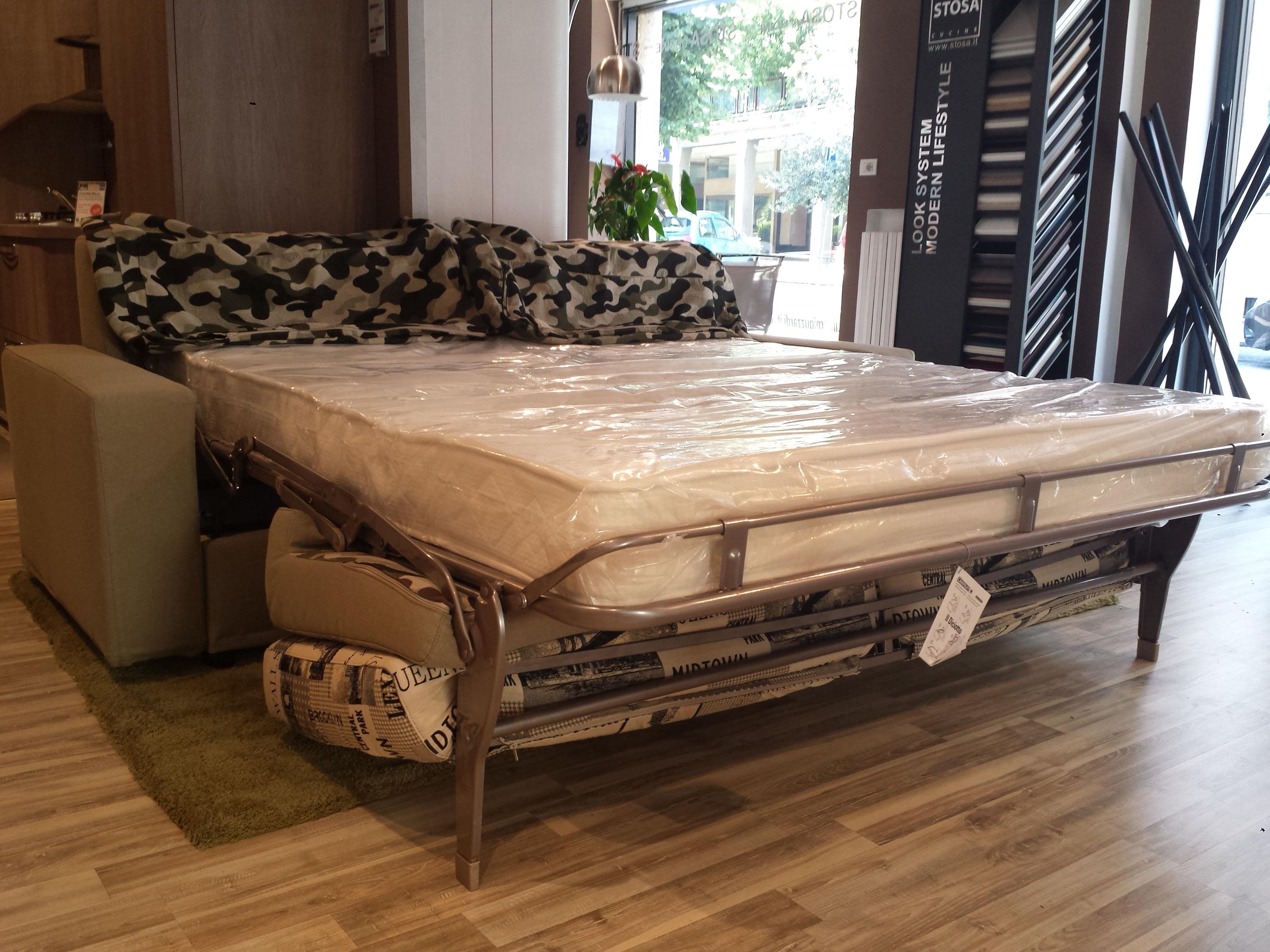 Divano letto artigianale made in italy super offerta - Divano letto con materasso alto ...