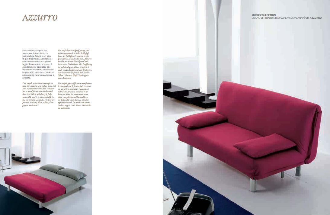 Divano letto bonaldo modello azzurro divani a prezzi - Divano letto azzurro ...