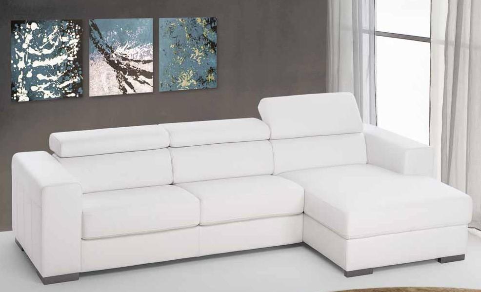 Divano letto con penisola contenitore fine serie divani for Divani piccoli con penisola