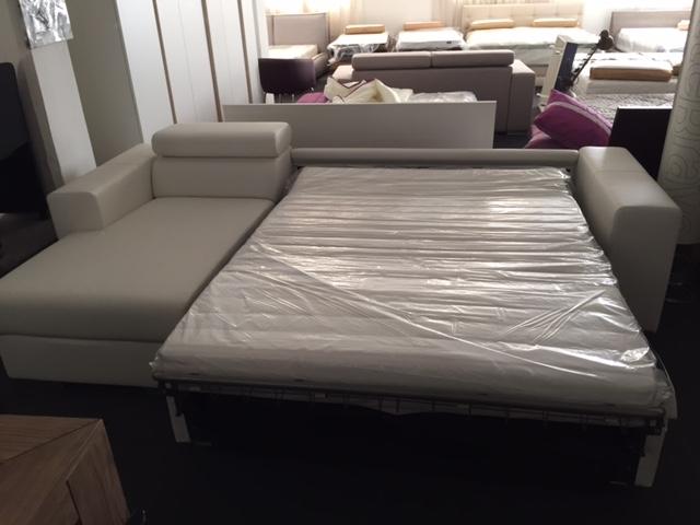 Divano letto con penisola contenitore fine serie divani for Divani con penisola economici