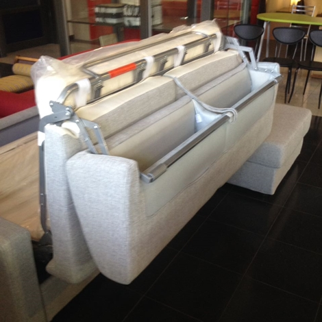Divano letto con penisola contenitore reversibile divani - Divano letto con penisola prezzi ...