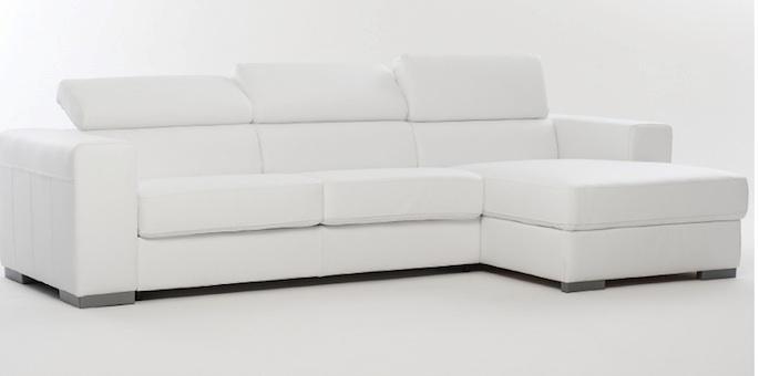 Divano divano letto con penisola divani con chaise longue - Divani letto chaise longue ...