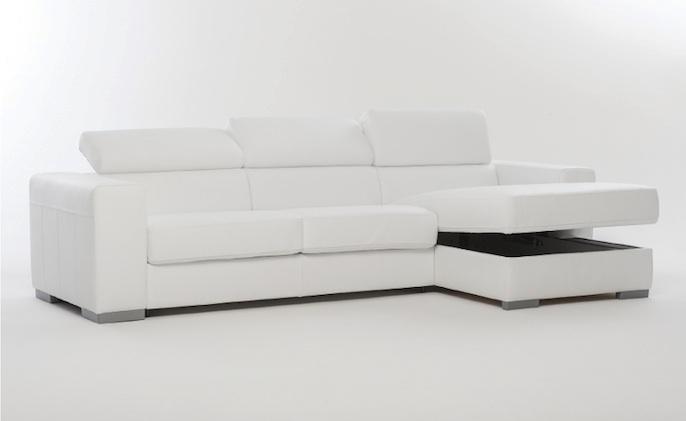 Divano divano letto con penisola divani con chaise longue divani a prezzi scontati - Divano letto con chaise longue ...