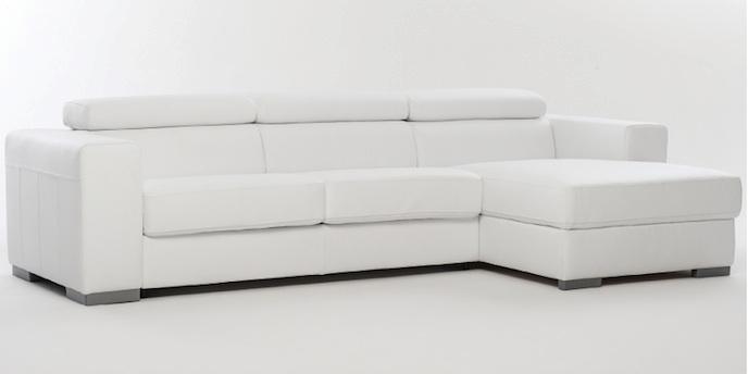 Divano divano letto con penisola divani con chaise longue - Divano letto con chaise longue ...