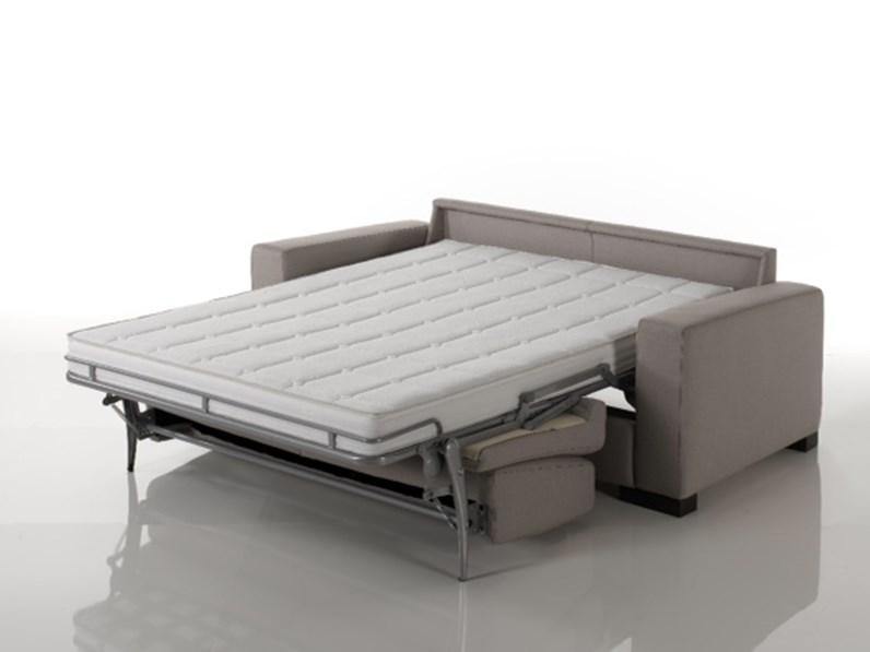 Divano letto con rete elettrosaldata for Divani larghezza 150 cm
