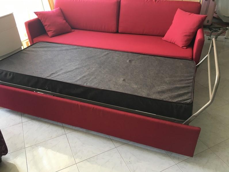 Divano letto doppio letto artigianale con sconto 50 for Divano letto doppio