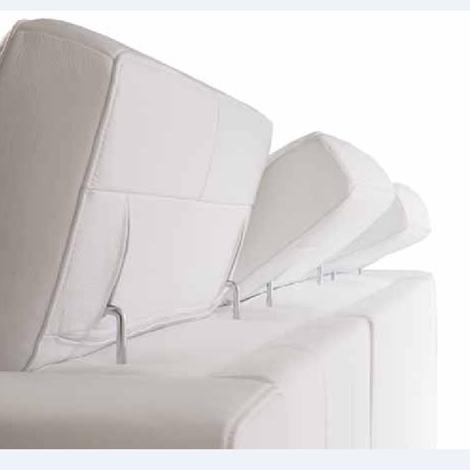 Divano letto in pelle spessorata con contenitore divani for Divano letto in pelle prezzi
