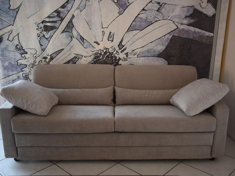 Divano letto in tessuto abiesse divani 1970 a prezzo ribassato - Divani e divani divano letto prezzo ...