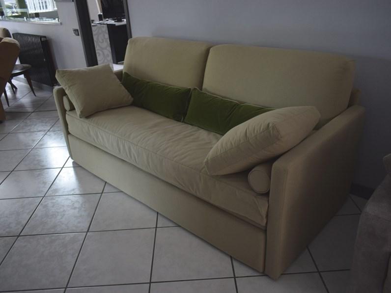 Divano letto milton abiesse divani 1970 in offerta outlet for Divani e divani in offerta