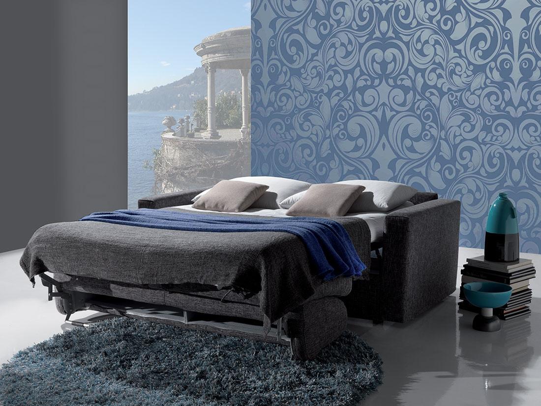Divano letto modello time scontato del 39 divani a - Divano letto aperto ...