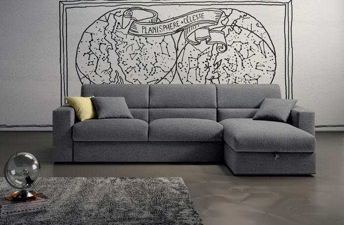 Divano letto samoa con penisola contenitore 30 divani a prezzi scontati - Lettino attaccato al letto ...