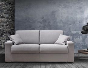 Divano letto Zara 18 linear Biel salotti in Offerta Outlet