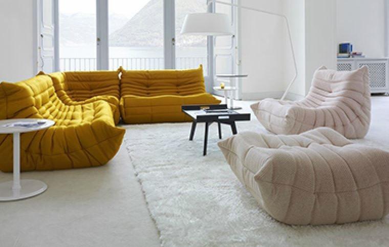 divano ligne roset togo scontato del 63 divani a