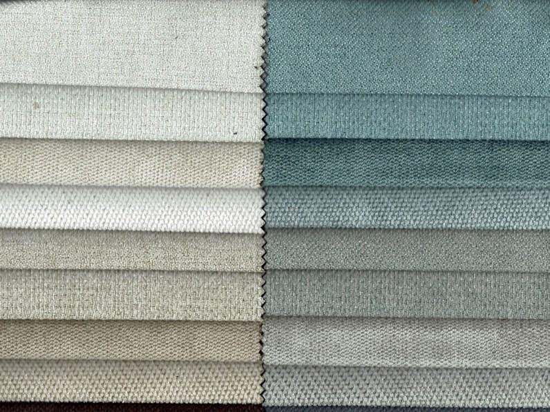 Divano lineare 2 posti in tessuto modello vintage errebi - Tessuto rivestimento divano ...