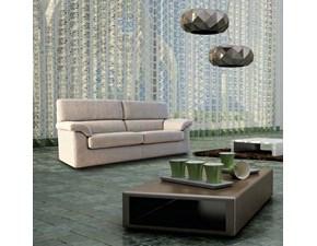 Outlet divani in tessuto for Divano 5 posti lineare