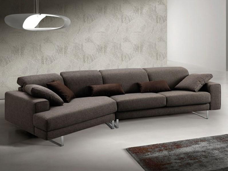 divano lineare 4 sedute