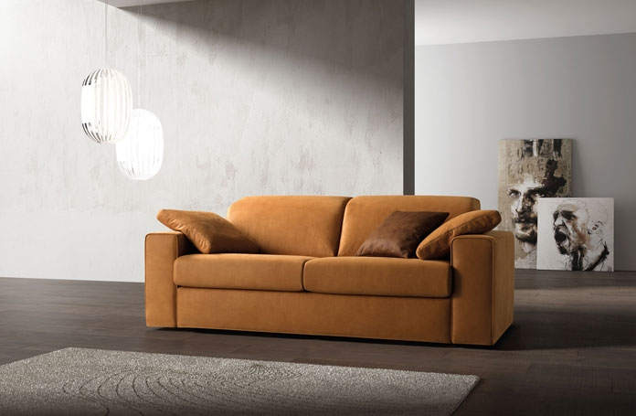 Divano lineare con meccanismo relax divani a prezzi scontati for Harte arredamenti