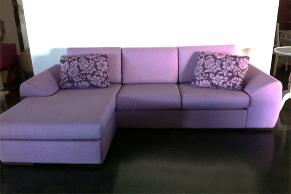 divano lops due posti con penisola scontato divani a