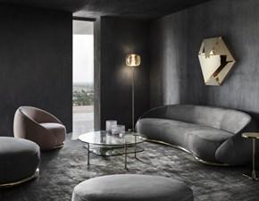 Divano Luxury sofa nabuk ottone  Md work in offerta