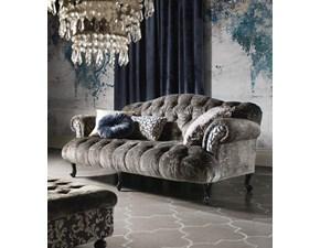 Divano Luxury velluto calassico contemporaneo  Md work a PREZZO OUTLET