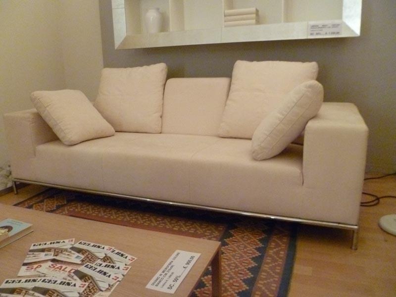 Divano microfibra bianco divani a prezzi scontati - Microfibra divano ...
