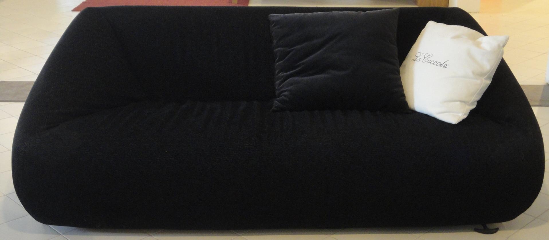 Divano mimo salotti le coccole divani lineari tessuto - Mimo divani prezzi ...