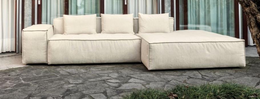 Divano componibile a moduli loft un divano modulare per for Divano per terrazzo