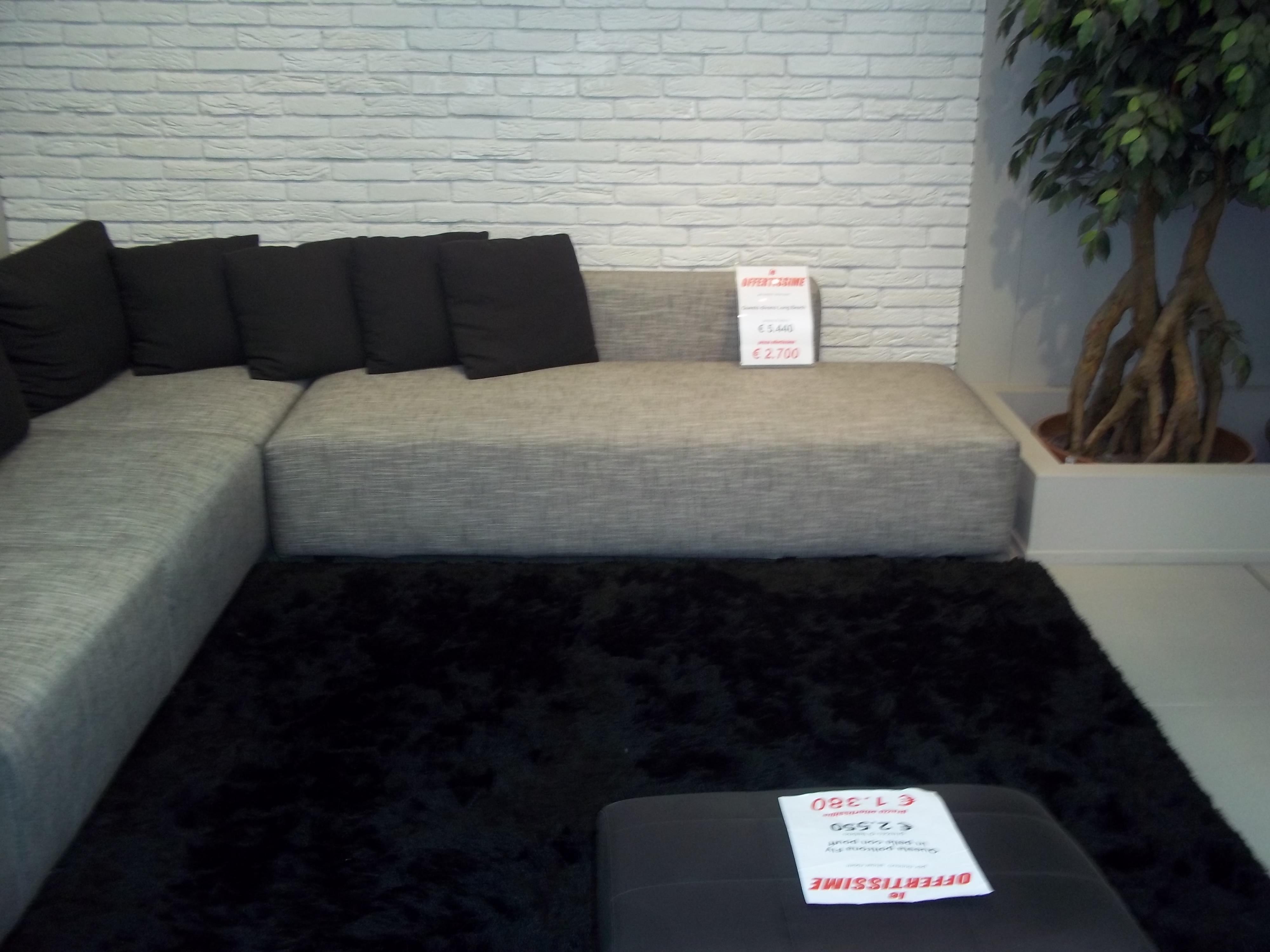 Divano mod long beach berloni divani a prezzi scontati for Divano 60 cm