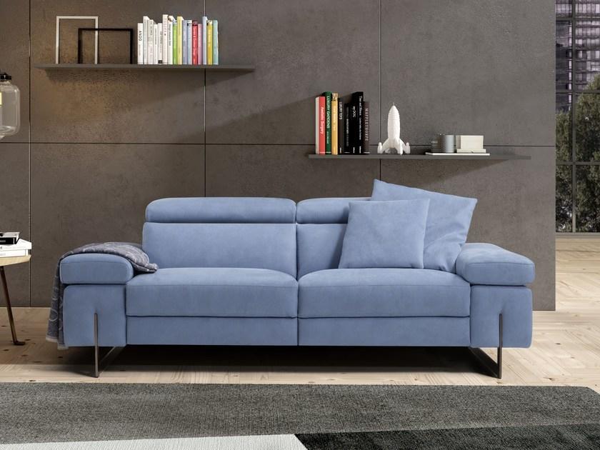 Divano modello candice con schienali reclinabili - Rivestimento divano poltrone sofa ...