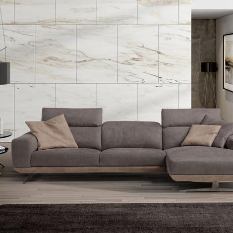 Divano modello gloria con schienale reclinabile tessuto for Gloria arredo giardino