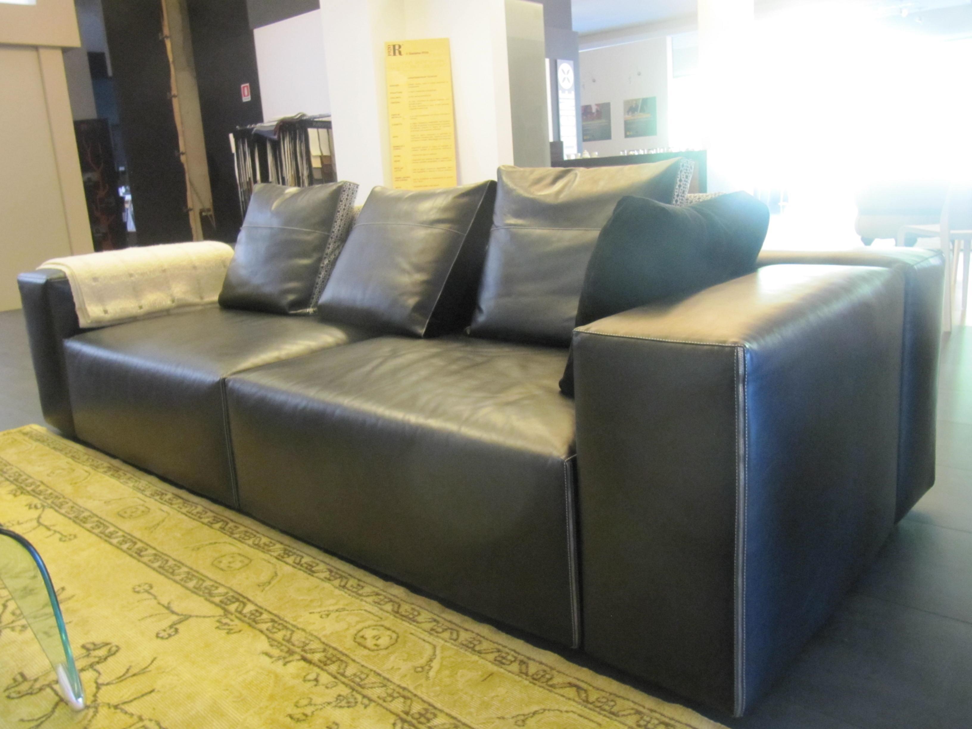 Divano moroso field divano pelle divani a prezzi scontati - Divano pelle nera ...
