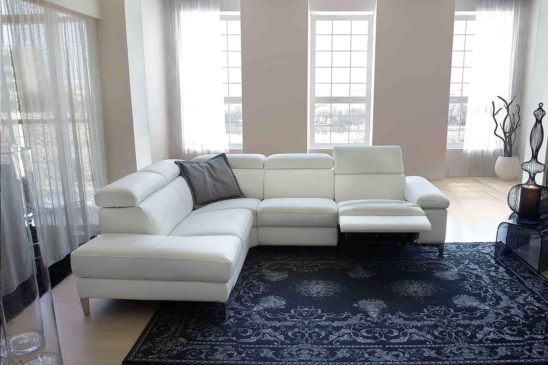 Promo sconto 48 divano pelle nicoletti home mod megan for Divano nicoletti