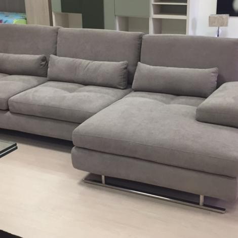 Divano nicoletti home serena divani con chaise longue tessuto divani a prezzi scontati - Divano con chaise longue ...