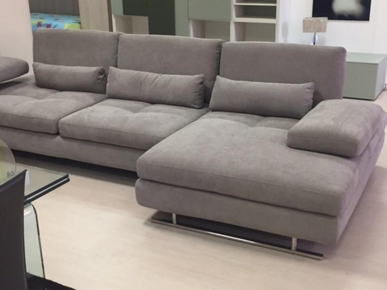 divano nicoletti home serena divani con chaise longue tessuto