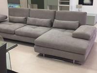 Divano nicoletti home serena divani con chaise longue tessuto for Divano 4 metri