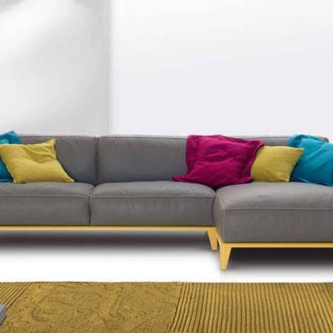 Divano nicoline salotti trevor divani a prezzi scontati - Costo rivestimento divano ...