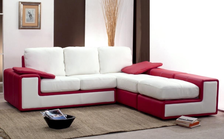 Divano pelle e microfibra componibile diversi colori fine for Microfibra per divani