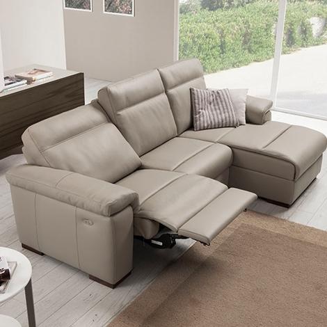 Divano pelle relax scontato del 50 divani a prezzi - Pelle del divano rovinata ...