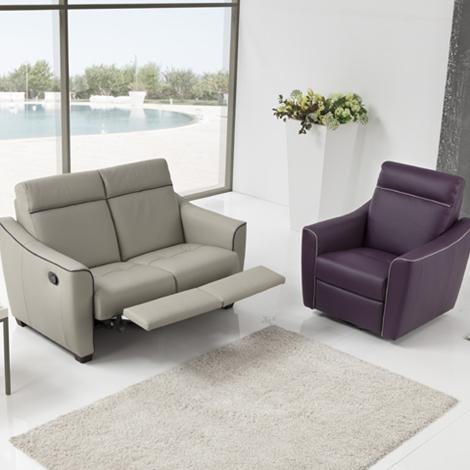 Divano relax 2 posti 50 divani a prezzi scontati - Divano detrazione 50 ...
