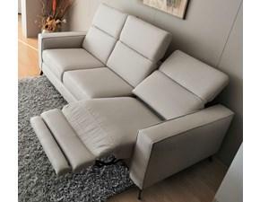 Divano relax 3 posti  con relax elettrico Lecomfort PREZZI OUTLET