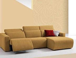 Divano relax Divano con meccanismo  wireless  relax vari tessuti Md work ad un prezzo imperdibile