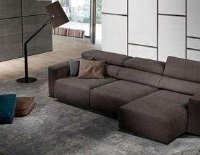 Divano relax Divano mod.bistrò con poggiatesta reclinabili e sedute estraibili in promo-sconto del 50% Excò PREZZI OUTLET